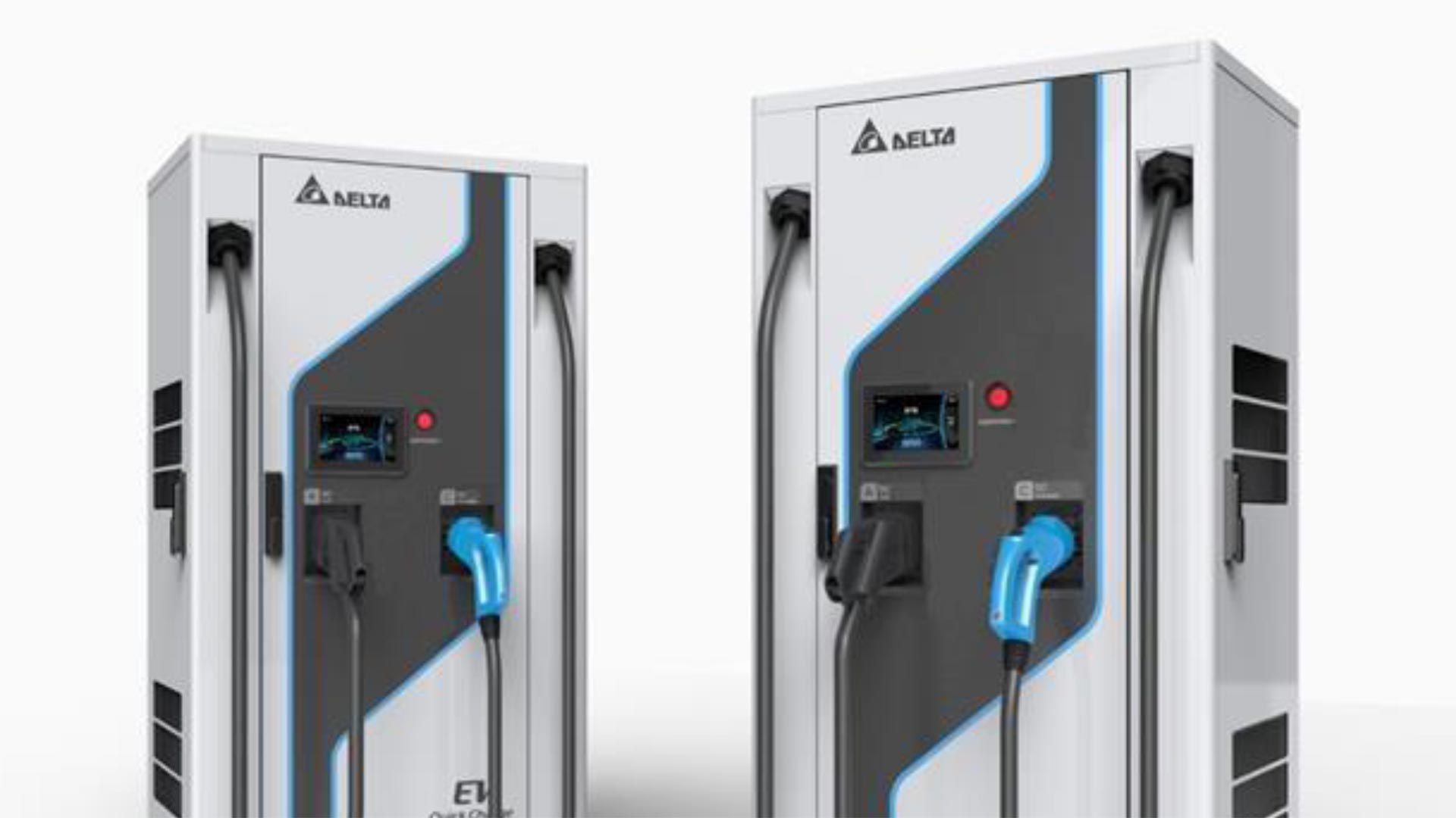 Delta extreme fast car chargers