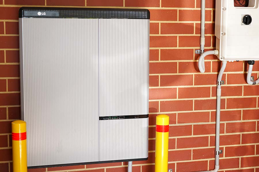 residential battery storage unit