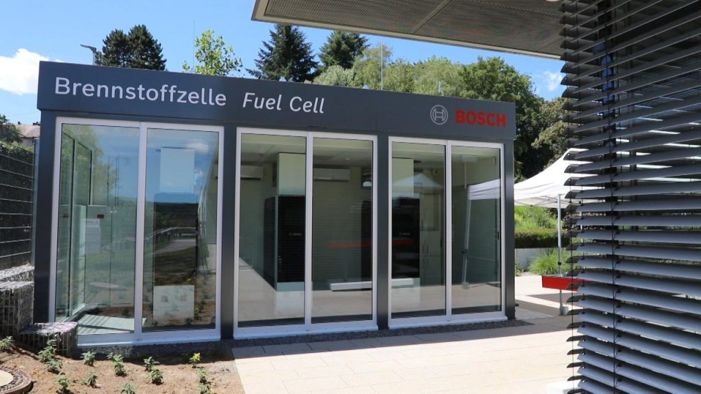 Bosch Fuel Cell building