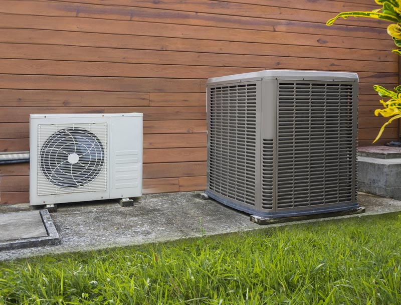 residential heat pump and air conditioner
